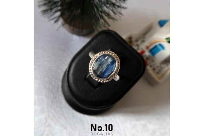 925 Ayar Gümüş Kyanit Taşlı Yüzük
