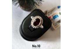 925 Ayar Gümüş Garnet(LaL) Taşlı Yüzük