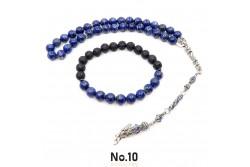 Lapis Lazuli Doğal Taşlı Tesbih (Bileklik Hediyeli)
