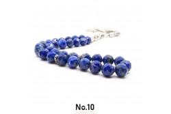 Faset Kesim Lapis Lazuli Doğal Taşlı Tesbih